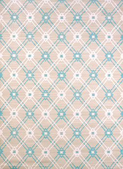 United Weavers Regional Concepts 541 50160 Trellis Blue Area Rug
