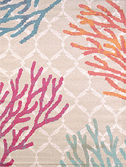 United Weavers Regional Concepts 541 50389 Tropical Reef Tropical Area Rug