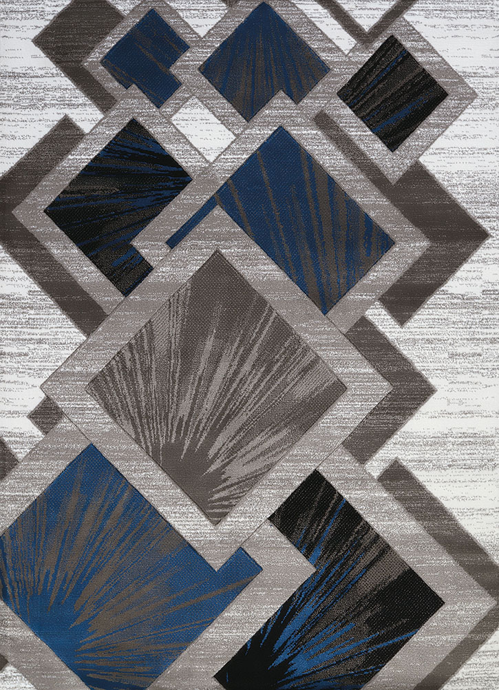 United Weavers Studio 710 00661 Flash Denim Blue Area Rug