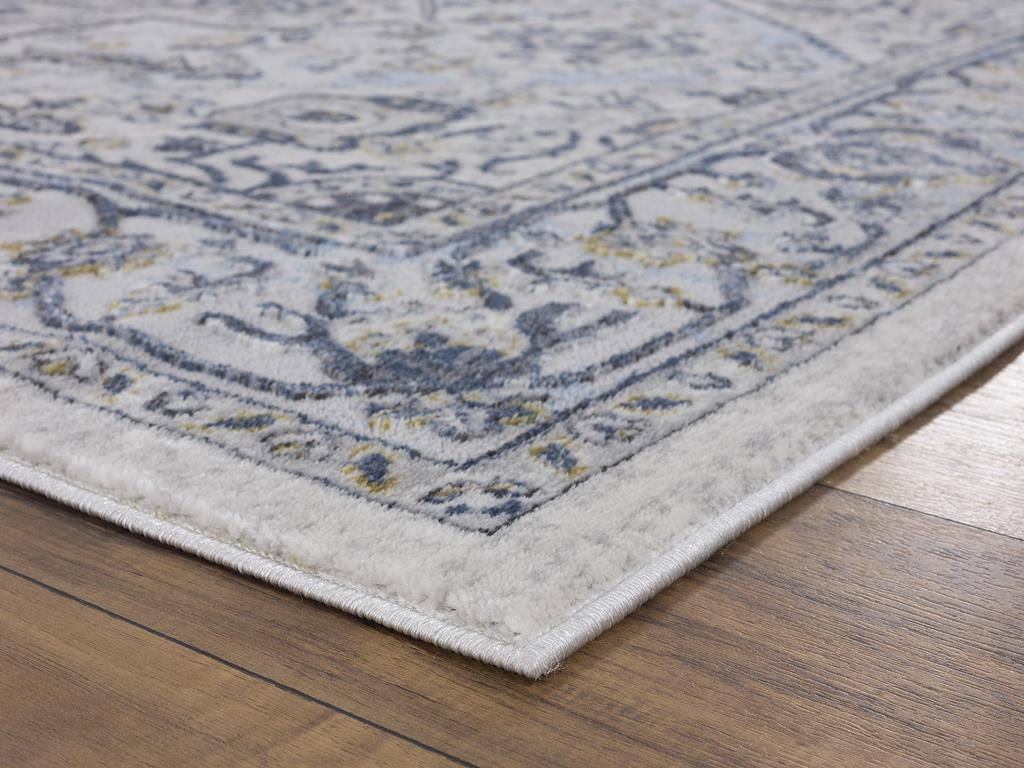 United Weavers Veronica 2610 20067 Adaleigh Blue Grey Area Rug Carpetmart Com
