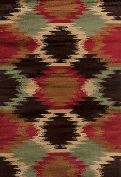 United Weavers Woodside 712 30175 Amah Tribe Multi Area Rug