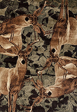 United Weavers Woodside 712 30275 Deer Kin Multi Area Rug