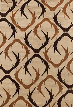 United Weavers Woodside 712 31026 Huntsman Trophy Beige Area Rug
