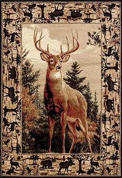 United Weavers Woodside 712 31375 Regal Pride Multi Area Rug