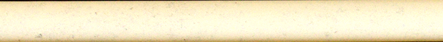 "Altea Ivory 1/2"" X 12"" Ceramic Wall Trim"