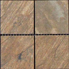 "Tucson Marron Brown 2"" X 2"" Porcelain Mosaic Tile"