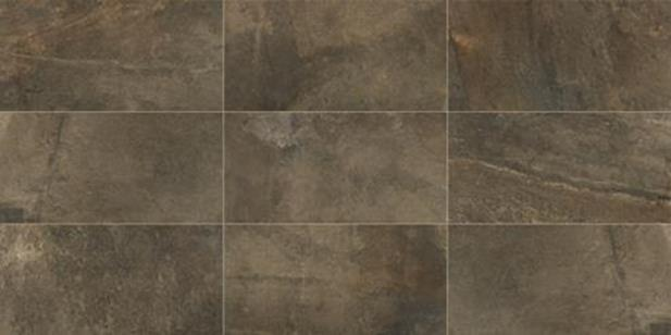 "Slate Attache Multi Green 12"" X 24"" Porcelain Tile"