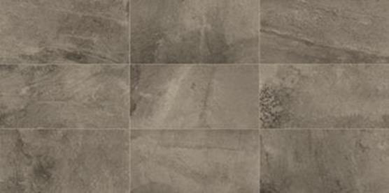 "Slate Attache Meta Dark Gray 12"" X 24"" Porcelain Tile"