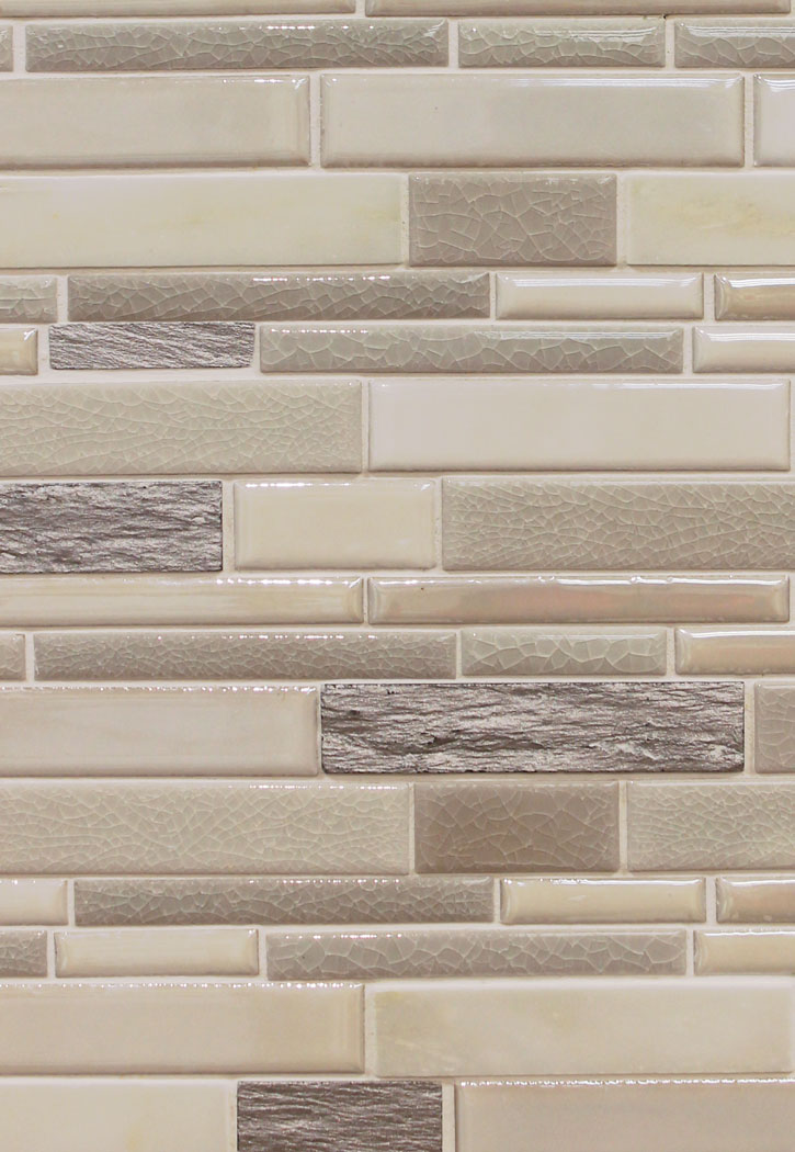"Everest Interlocking Mosaic Tile - 12"" x 12"" Sheet"