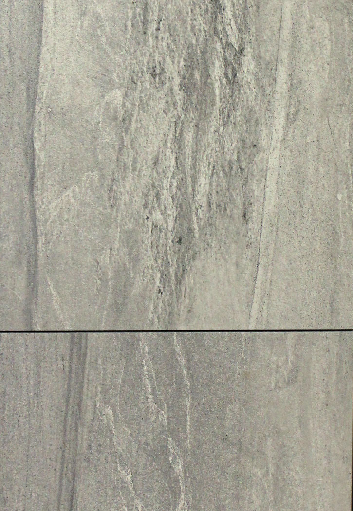 Linden Point Grey Porcelain Floor Tile 12 x 24