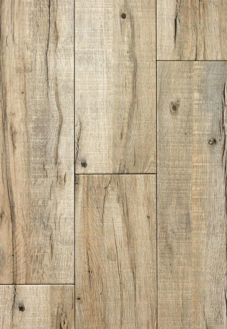 "Blue Mountain Oak/Beige 6"" x 24"" Porcelain Floor Tile"