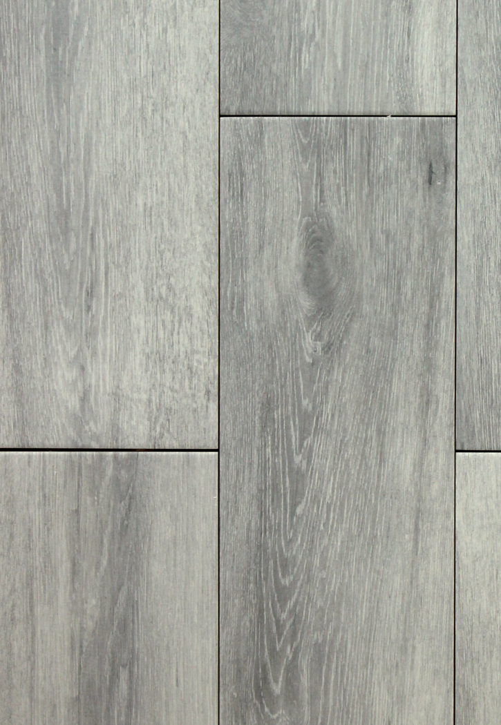 Niove silver faux wood 7 x 20 ceramic floor tile for Fake hardwood tile
