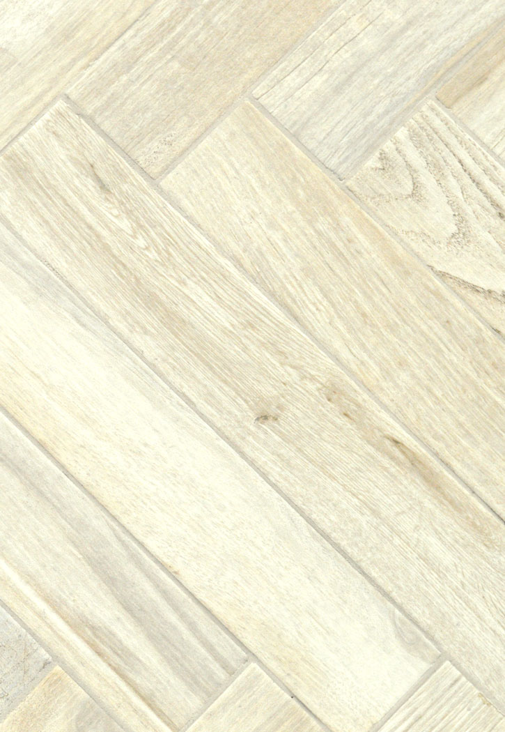 "Living Wood Bianco Porcelain Floor Tile 3"" x 18"""