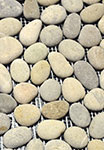 Vitality Mica Grey Natural Stone Pebble Mosaic Floor or Wall Tile 12