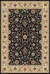 Concord Global Trading Williams 7513 Istanbul Black Area Rug