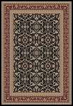 Concord Global Trading Williams 7563 Izmir Black Area Rug