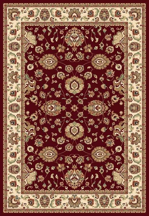Concord Global Trading Williams 7590 Sultan Red Area Rug