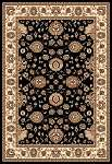 Concord Global Trading Williams 7593 Sultan Black Area Rug