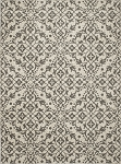 Concord Global Trading New Casa 8592 Medallions Ivory-Grey Area Rug