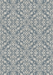 Concord Global Trading New Casa 8596 Medallions Blue Area Rug