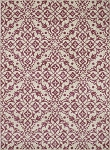 Concord Global Trading New Casa 8597 Medallions Coral Area Rug