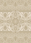 Concord Global Trading New Casa 8631 Aubusson Yellow Area Rug