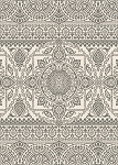 Concord Global Trading New Casa 8635 Aubusson Grey Area Rug