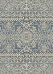 Concord Global Trading New Casa 8636 Aubusson Blue Area Rug