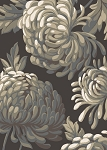 Concord Global Trading New Casa 8668 Flowers Brown Area Rug