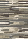 Concord Global Trading New Casa 8685 Patch Stripes Grey Area Rug