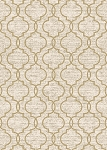 Concord Global Trading New Casa 8821 Quatrefoil Ivory-Yellow Area Rug
