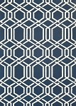 Couristan Covington 3895-0953 Ariatta - Navy Indoor-Outdoor Area Rug