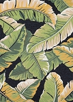 Couristan Covington 4972-4000 Rainforest - Forest Green-Black Indoor-Outdoor Area Rug