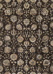 Easton 6337/3282 Adaline Expresso/Cream Area Rug by Couristan