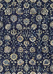 Easton 6337/5191 Adaline Navy/Cream Area Rug by Couristan