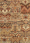Easton 6598/4848 Phoenix Ivory/Salmon Area Rug by Couristan