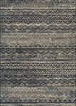 Easton 6822/3353 Capella Black/Grey Area Rug by Couristan