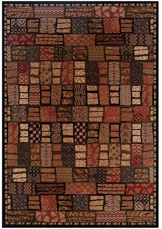 Everest 0715/4991 Cairo Midnight Area Rug by Couristan