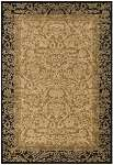 Everest 1284/4898 Fontana Gold/Black Area Rug by Couristan