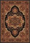 Everest 2829/5123 Antique Sarouk Black Area Rug by Couristan