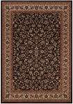 Everest 3791/6025 Isfahan Black Area Rug by Couristan