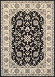 Everest 8972/3363 Rosetta Ebony Area Rug by Couristan