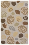 Couristan Outdoor Escape 2121-5152 Barnegat Bay Sand Indoor-Outdoor Area Rug