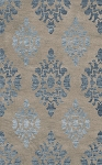 Dalyn Bella BL9 Silver Custom Area Rug