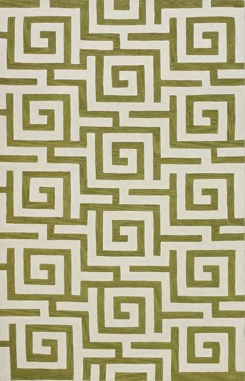 Infinity IF1 Citron Area Rug by Dalyn