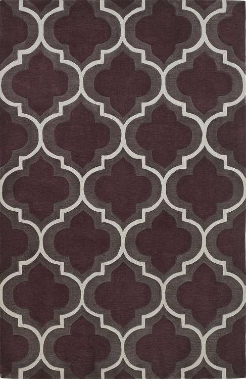 Infinity IF3 Plum Area Rug by Dalyn