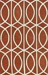 Infinity IF5 Pumpkin Area Rug by Dalyn