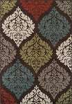 Marcello MO611 Chocolate Area Rug by Dalyn