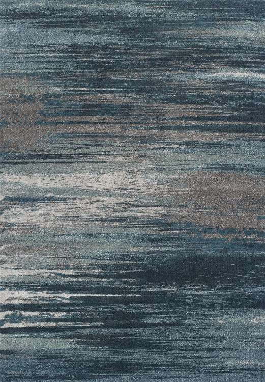 Dalyn Modern Greys MG5993 Teal Area Rug : Modern Area Rugs