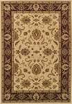 Wembley WB524 Ivory/Red Area Rug by Dalyn